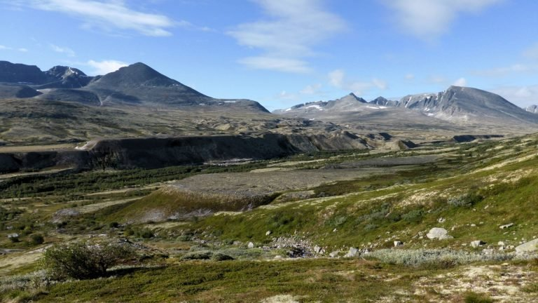 Wandern im Rondane Nationalpark in Norwegen