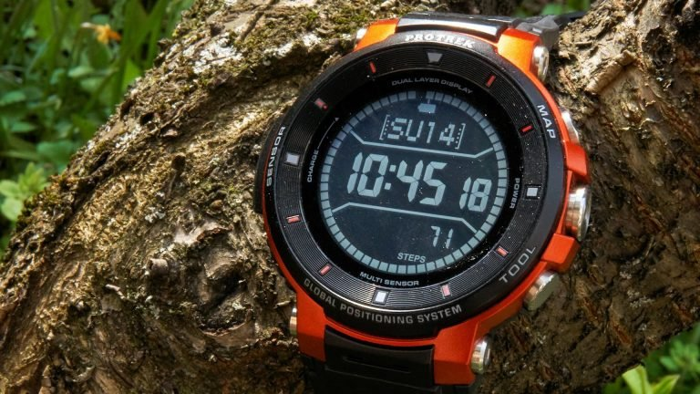 Outdoor-Smartwatch: Die Casio Pro Trek WSD-F30 im Test